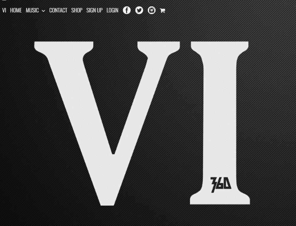Web Design – 360 Music Website Design