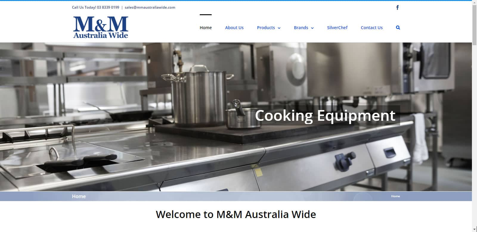 Web Design M&M Australia Wide