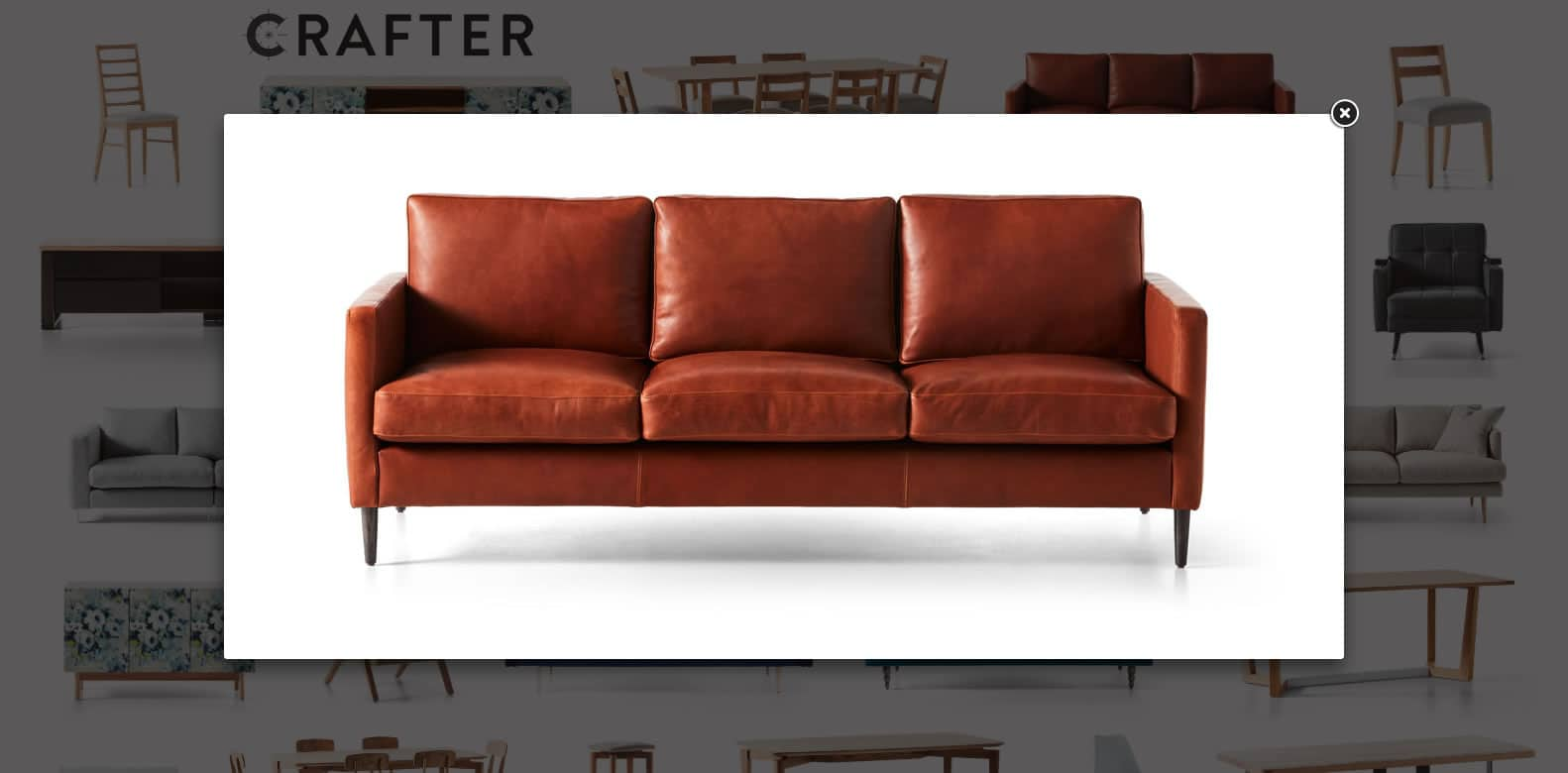 Crafter Web Design - A Couch