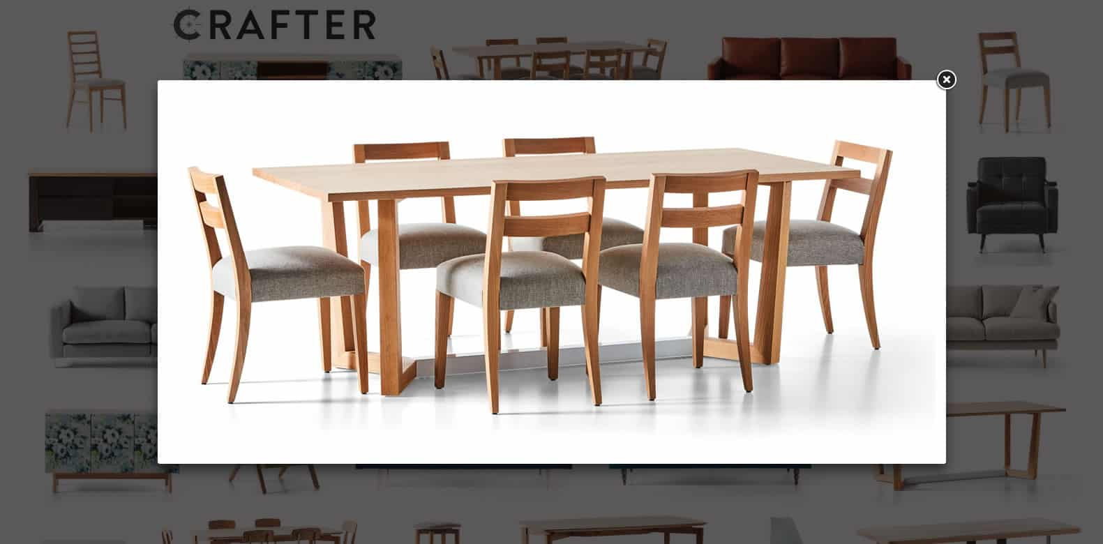 Crafter Web Design - Table
