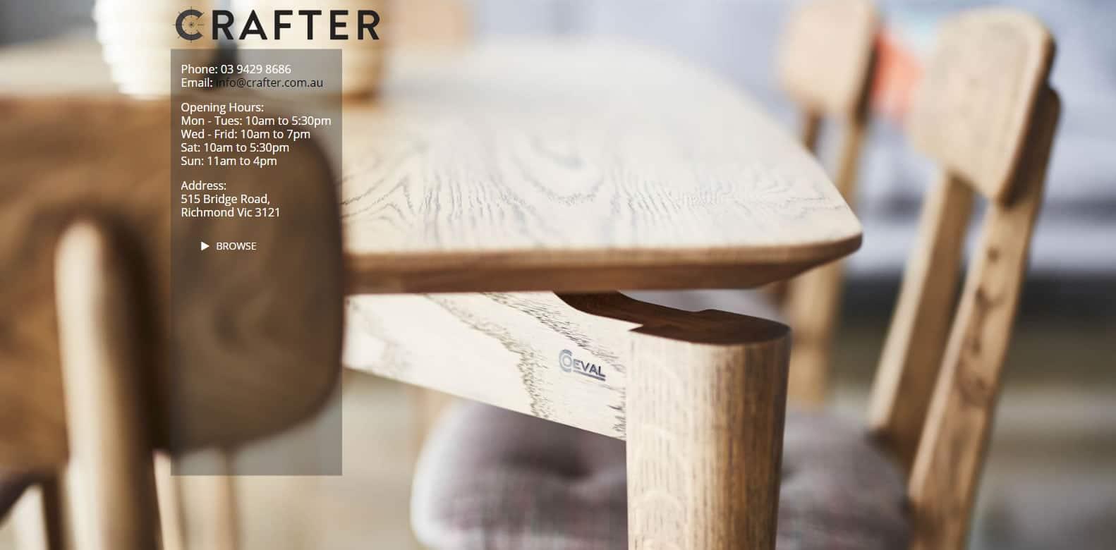 Crafter Web Design