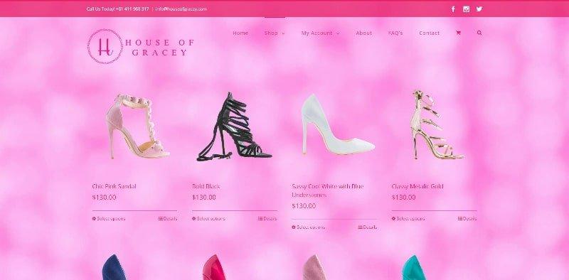 Website Design - House of Gracey