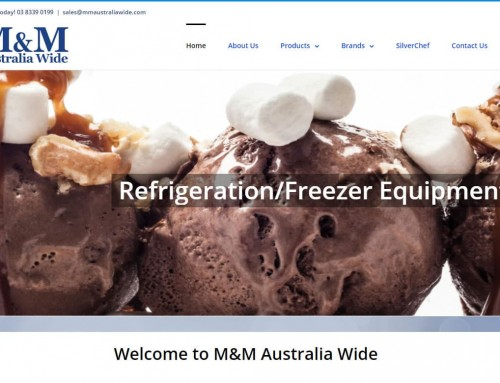 Web Design – M&M Australia Wide