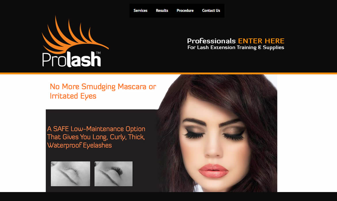 Web Design - Prolash @ ZAAAX