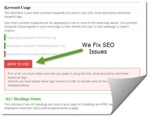SEO Errors We Fix