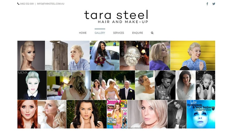 Tara Steel - Hair & Makeup Gallery