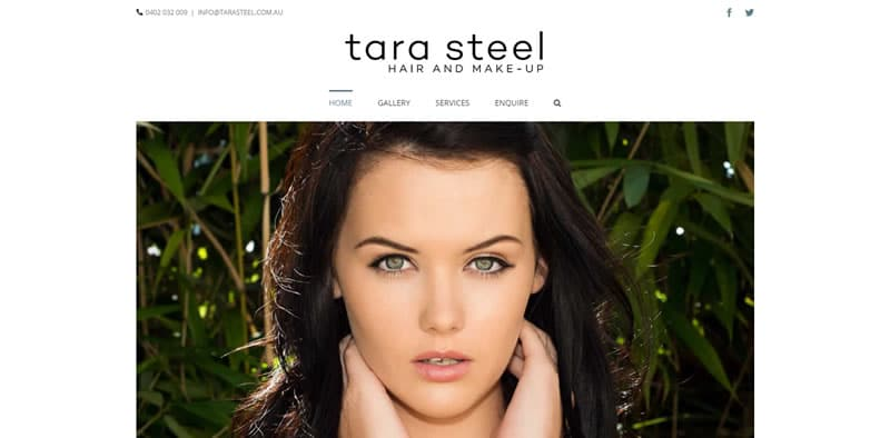 Tara Steel - Makeup Artist & Hair Stylist