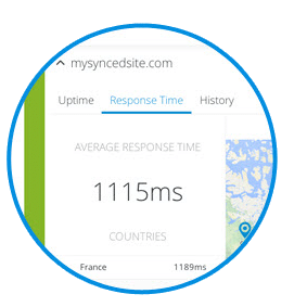 Track Response Times from Multiple Global Locations