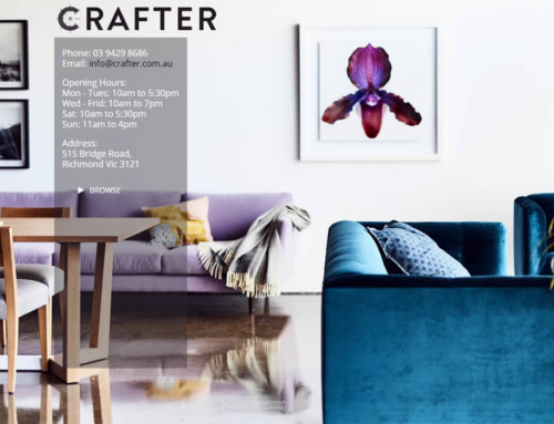 Crafter Interiors Web Design