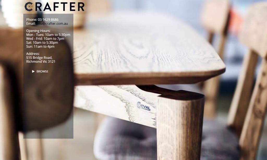 ZAAAX Websites - Crafter Interiors