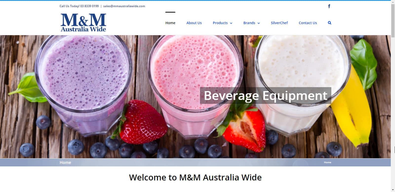 Web Design M&M Australia Wide