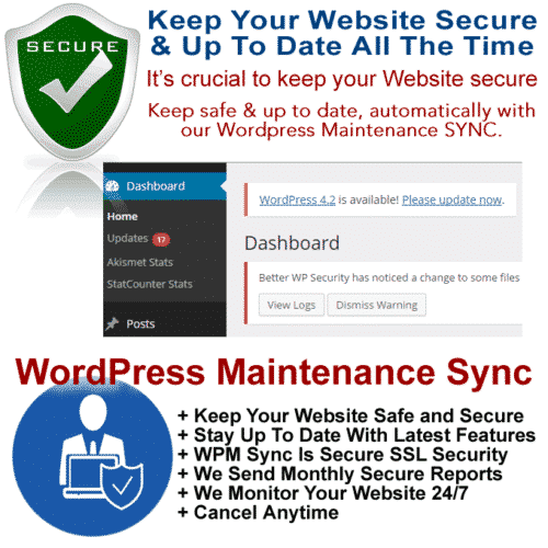 WordPress Maintenance Service