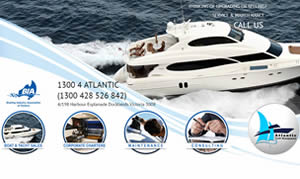 Web Design - Atlantic Yacht Management