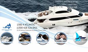 Web Design - Atlantic Yacht Management