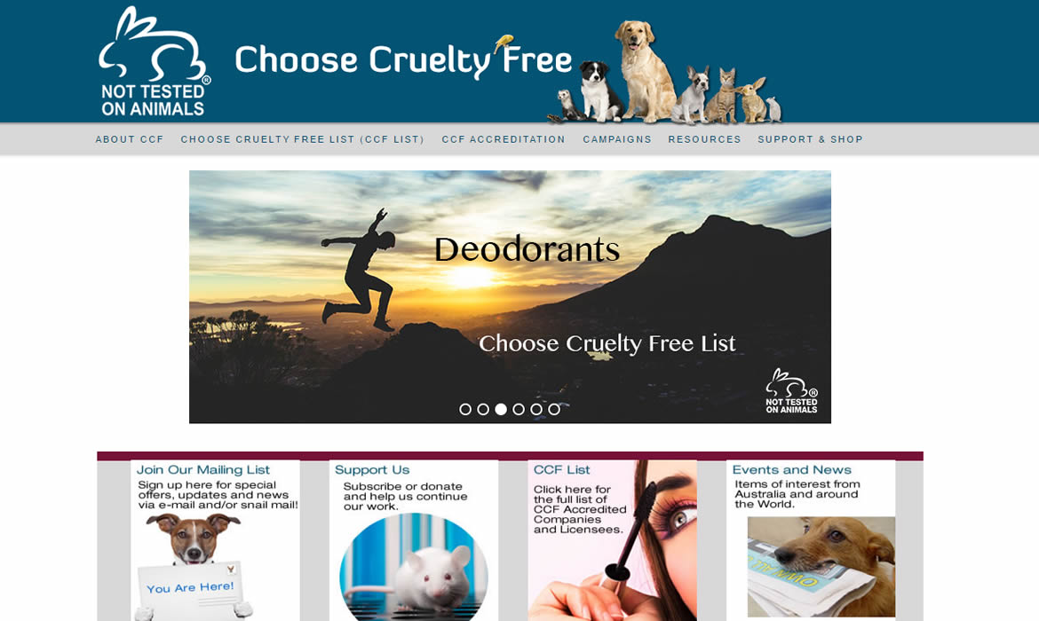 CCF Choose Cruelty Free