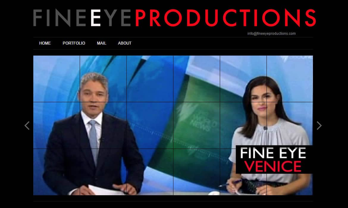Web Design - FineEye Productions SBS