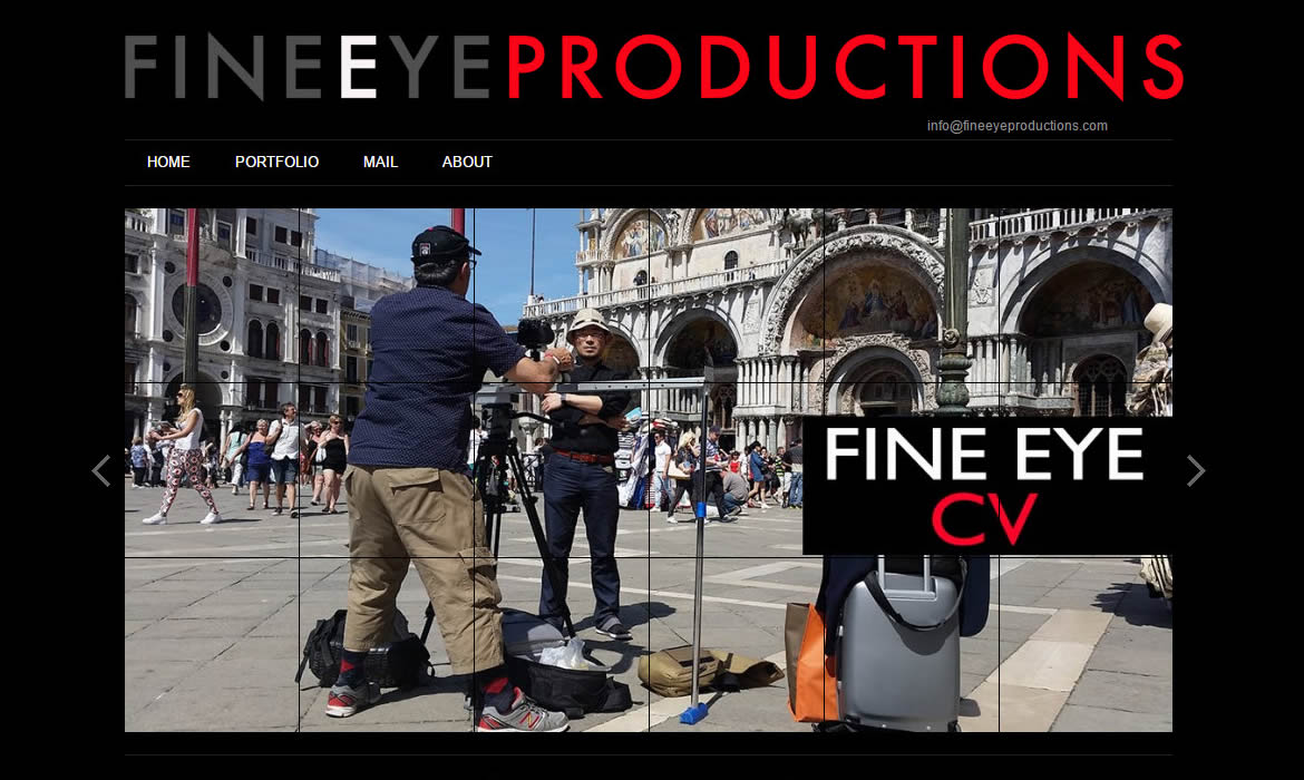 Web Design - FineEye Productions