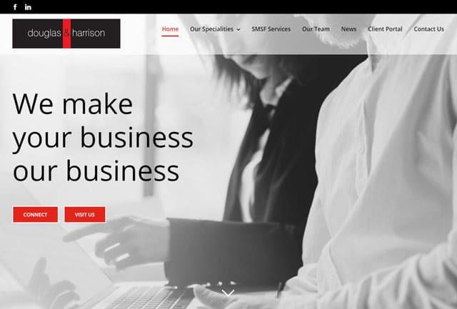 Website Designs at Douglas & Harrison