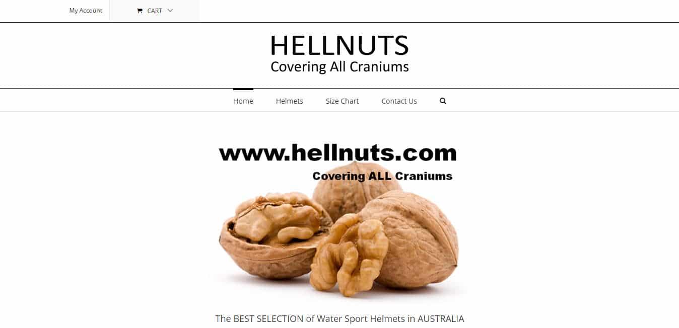 Web Design - Hellnuts @ ZAAAX