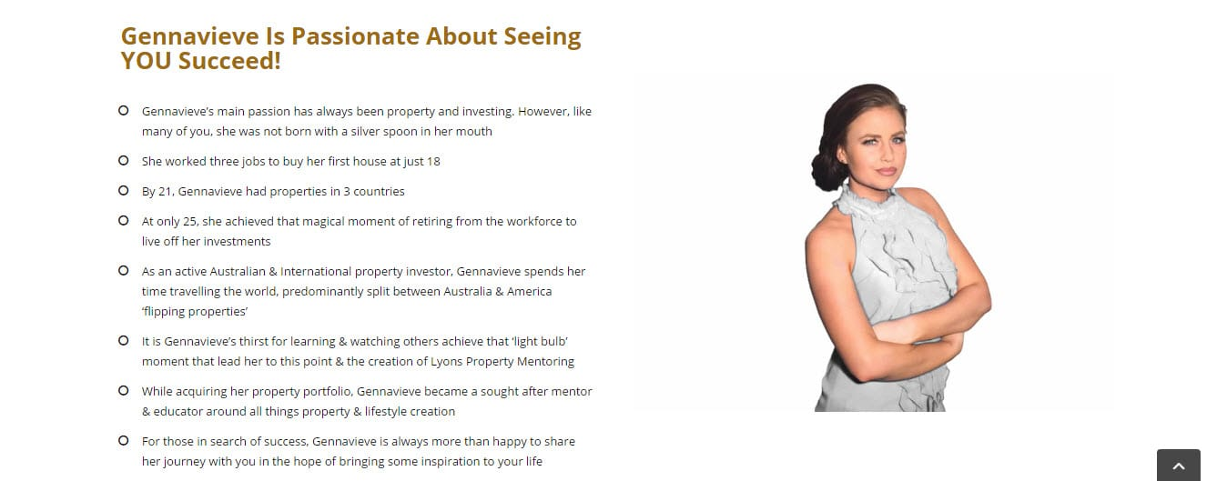 Websites for Business - Lyons Property Mentoring @ ZAAAX