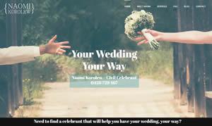 Web Design - Naomi Korolew