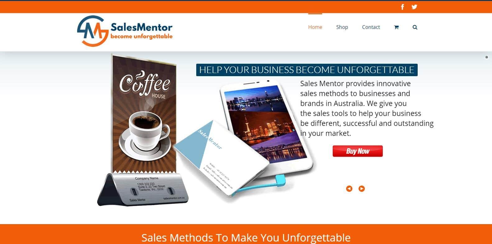 Web Design - Sales Mentor @ ZAAAX