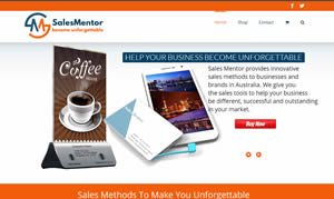 Web Design - Sales Mentor
