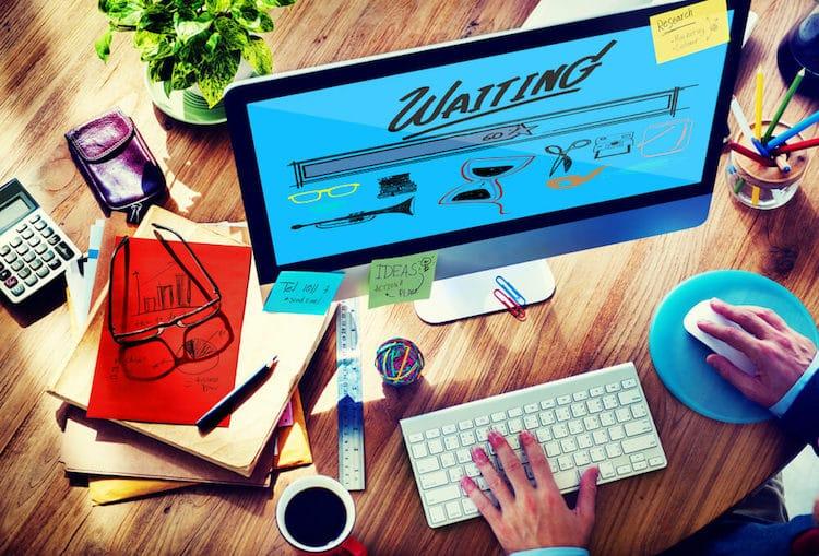 web design loading time