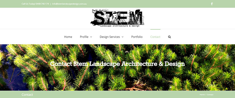 Stem Landscape Design Web Design - Stem Landscape Design Web Design • Award Winning Website Designs