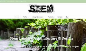 Web Design - Stem Landscape Design