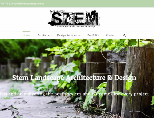 Web Design – Stem Landscape Design