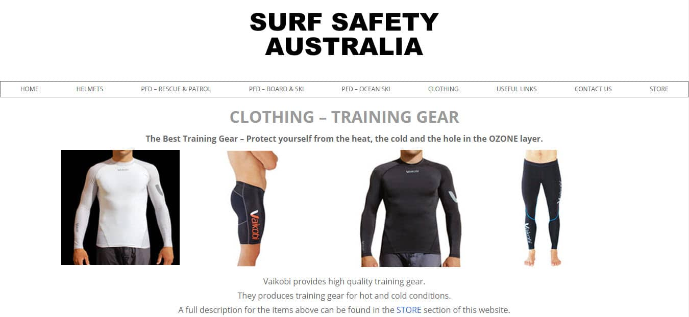 ZAAAX Web Design - Surf Safety Australia