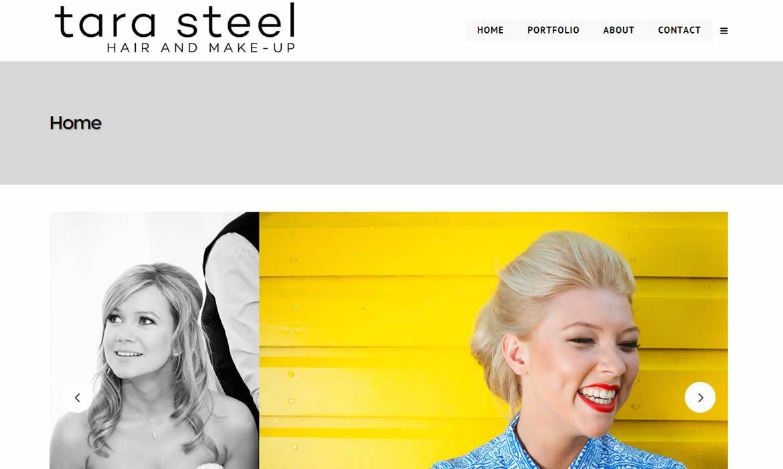 Web Design - Tara Steel