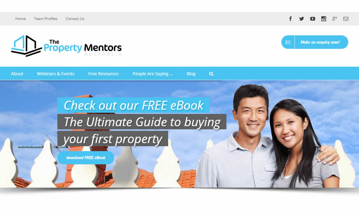 Web Design - The Property Mentors