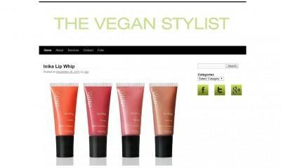 Web Design - The Vegan Stylist @ ZAAAX