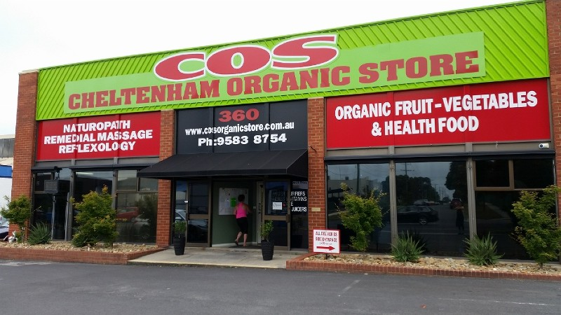 Websites For Business - COS Organic Store @ ZAAAX