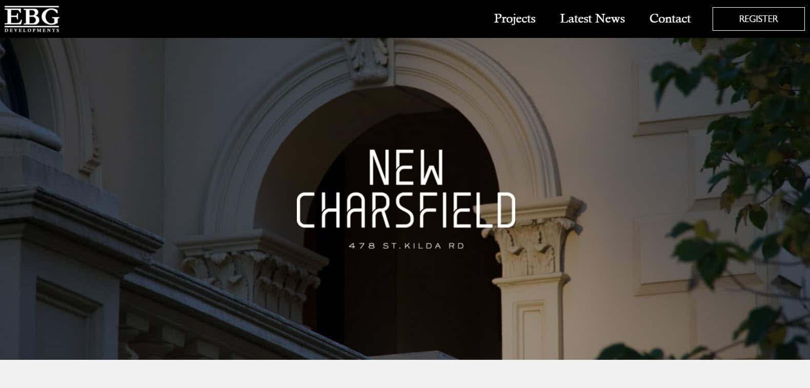 Web Design - EBG New Charsfield