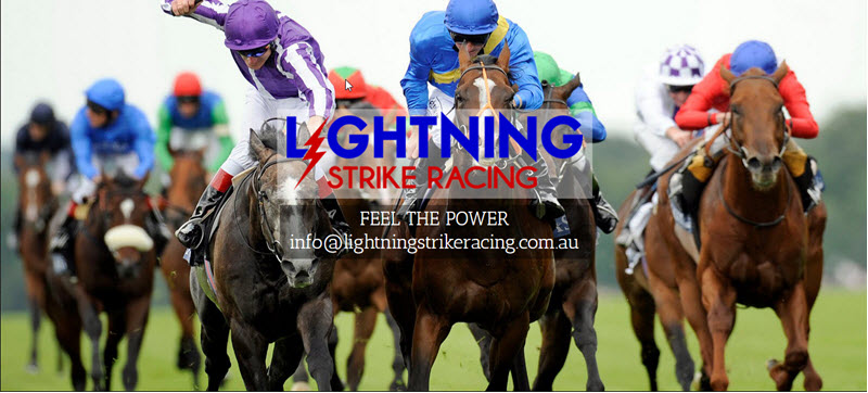 Web Design - Lightning Strike Racing @ ZAAAX