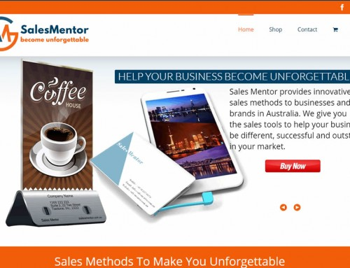 Web Design – Sales Mentor