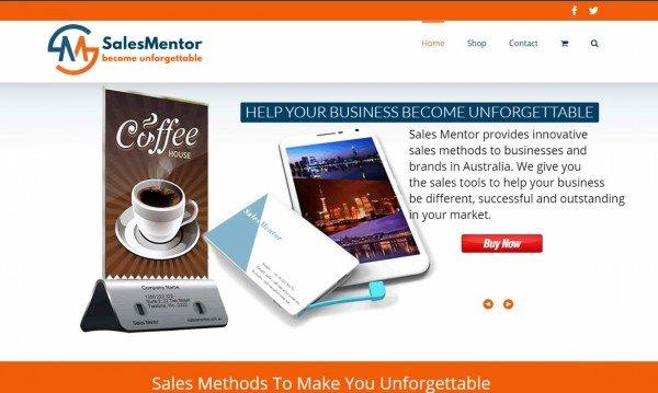 Web Design - Sales Mentor