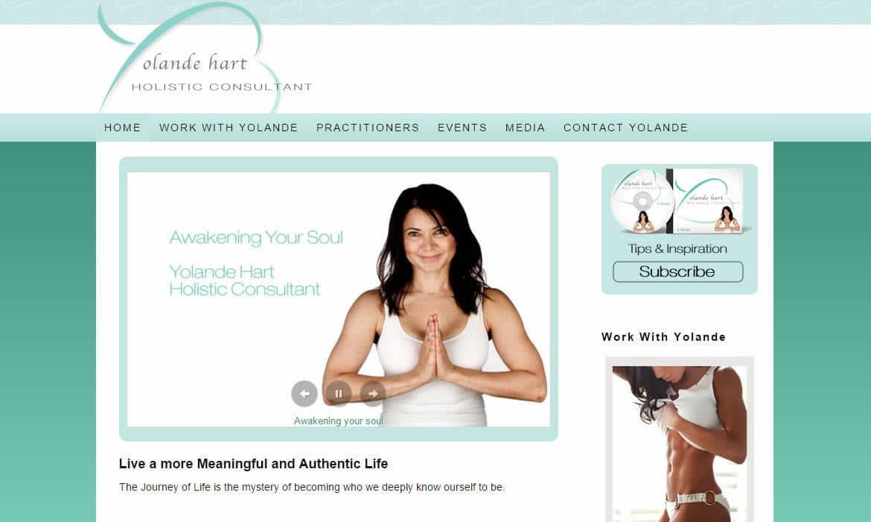 Yolande Hart Web Design